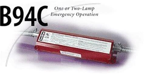 Bodine Ballast Emergency Lighting