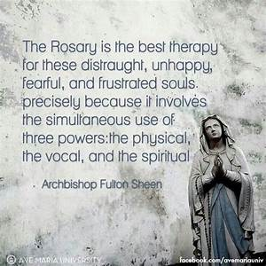 Catholic Quotes... Rosary Quotes