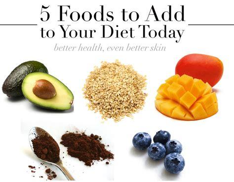 Good Foods For Better Skin Foodfashco