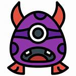 Monster Icons Icon Mouth Head Halloween Animal
