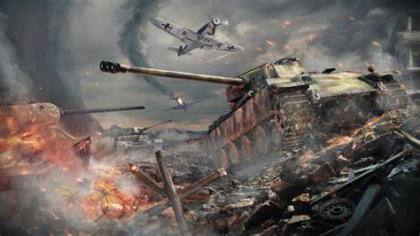 wallpaper war thunder tanks battle hd games