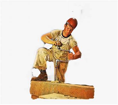 Manly Rugged Rough Handsome Tough Hardhat Clipart