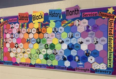 black history month activity collaboration quilt