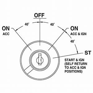 Heavy Duty Ignition Switch 4 Position