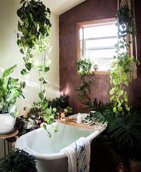 Inspi Pour Décorer La Salle De Bain Avec Des Plantes! 20