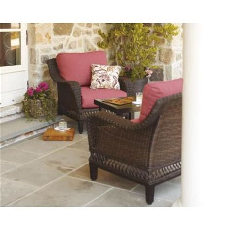 hton bay woodbury 3 patio seating set with