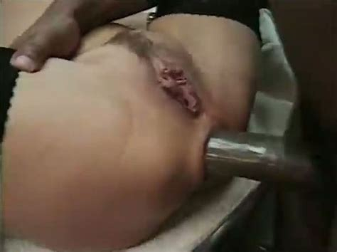 White Slut Get Her Tight Pussy Reamed In The Kitchen