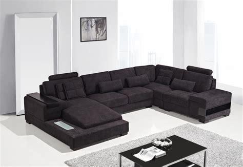 fabric sectional sofas modern fabric sectional sofa