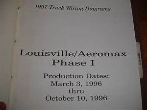 1997 Ford Truck Louisville Aeromax 1 Electrical Wiring