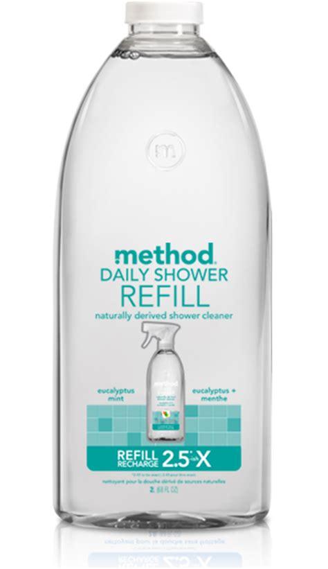 Method Shower Spray Refill by Daily Shower Spray Refill Method