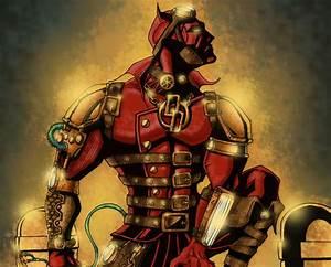 Daredevil, Marvel, Superhero, Steampunk, Wallpapers, Hd, Desktop, And, Mobile, Backgrounds