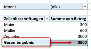Gesamtergebnis Berechnen : gel st excel pivot eingestellte formatierung ~ Themetempest.com Abrechnung