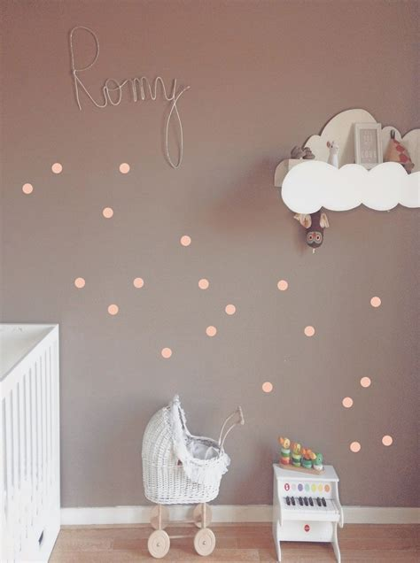 Kinderzimmer Mädchen Wandgestaltung by Quot Punkte Quot Wandsticker Kinderzimmer Kinderzimmer