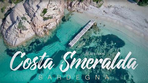 sardegnas costa smeralda  drone views