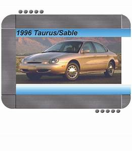 Ford Taurus  Mercury Sable 1996 Factory Service  U0026 Shop Manual