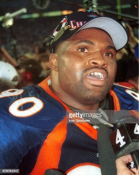 Neil Smith Of The Denver Broncos After Super Bowl Xxxii