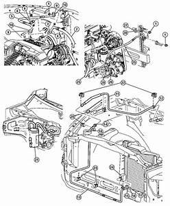 Dodge Ram 1500 Line  A  C Discharge  Plumbing  Conditioning