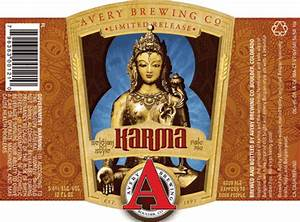 avery white rascal and karma lagunitas sumpin39 wild ale With avery beer bottle labels