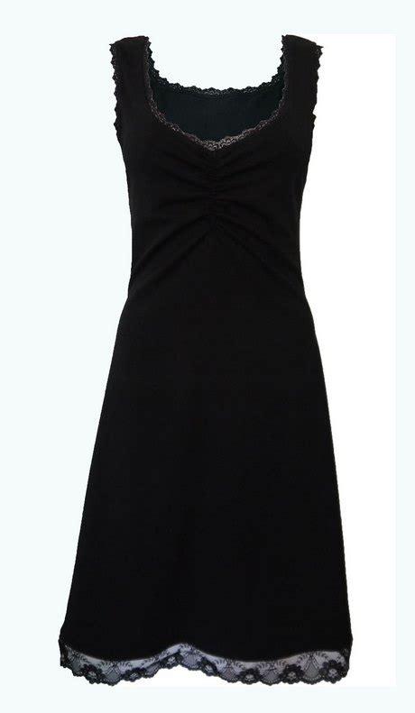 mouwloze jurk zwart