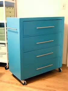 old dresser rolling tool cabinet crafty nest