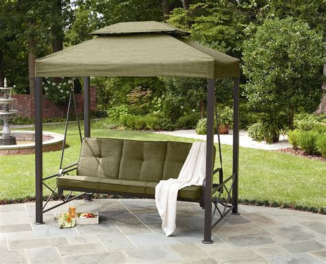 garden oasis  person gazebo swing limited availability