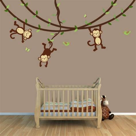 Babyzimmer Wandgestaltung Junge Grün by Niedliche Babyzimmer Wandgestaltung Inspirierende