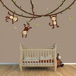 Wandgestaltung Für Kinderzimmer : niedliche babyzimmer wandgestaltung inspirierende ~ Michelbontemps.com Haus und Dekorationen