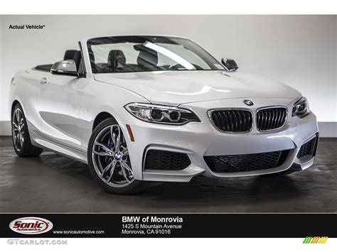 Bmw Mineral White by 2015 Mineral White Metallic Bmw 2 Series M235i Convertible
