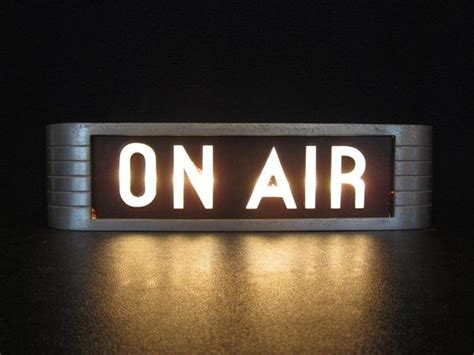 on air light listen to the entertaining house live on air the