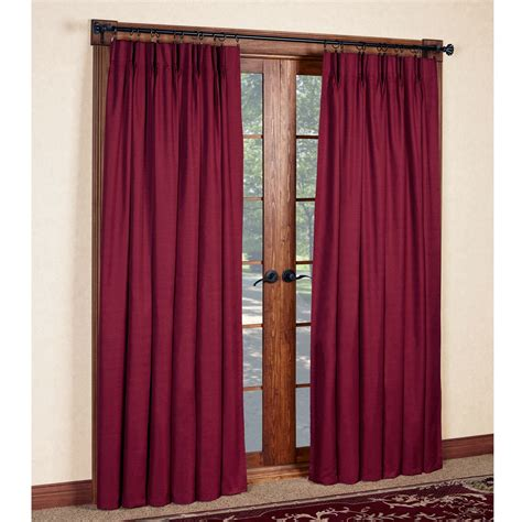 crosby pinch pleat thermal room darkening window treatments