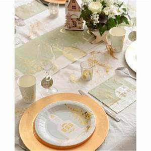 Serviette De Noel En Papier : serviette de table village de no l papier x20 serviettes papier no l ~ Teatrodelosmanantiales.com Idées de Décoration