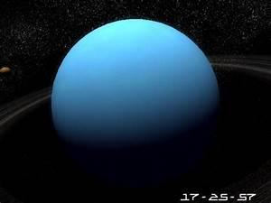 Planet Uranus 3D Screensaver. Great 3D Model of the blue ...