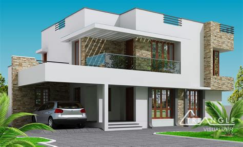 Modern Two Storey House Design Endeligmamma  Home
