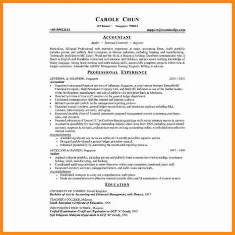 7 accounting resumes exles driver resume