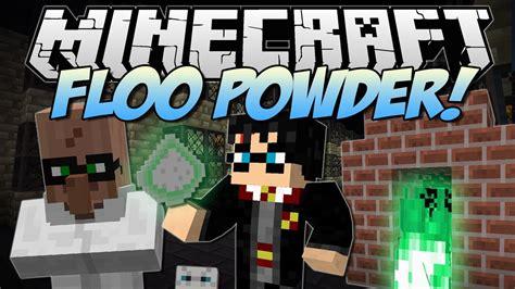 minecraft floo powder harry potter teleportation