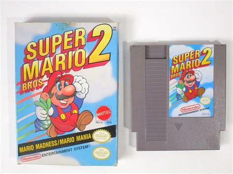 Super Mario Bros 2 Game For Nes The Game Guy