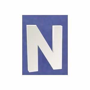 Lettre En Carton À Peindre : lettre 3d n 12cm maison pratic boutique pour vos loisirs creatifs et votre deco ~ Nature-et-papiers.com Idées de Décoration