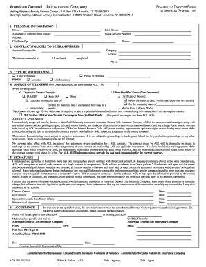 List of insurance companies from the state of texas, the city of amarillo: Fillable american general life insurance company po box 871 amarillo tx - Edit, Print & Download ...