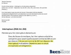 Nombre De Prise Par Disjoncteur : normes electriques belge nombre de prise par circuit ~ Premium-room.com Idées de Décoration