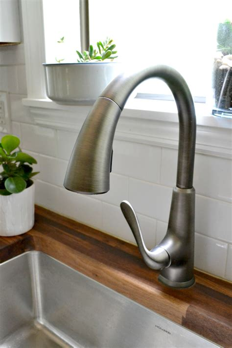 pfister pasadena faucet slate kitchen details the faucet the duckling house
