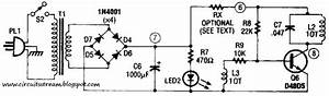 Electronic Rf Type Battery Charger Circuit Diagram