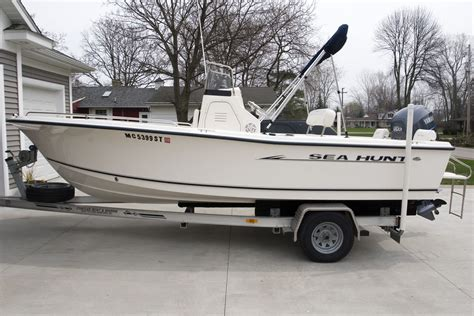 Sea Hunt Boats Triton 202 by Sold 2005 Sea Hunt Triton 202 Cc 150 Yamaha 4 Stroke
