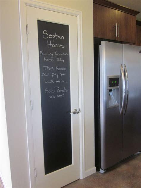 amusing white chalkboard door wooden frames  chrome