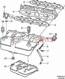 90490743  Saab Charge Air Absolute Pressure Sensor