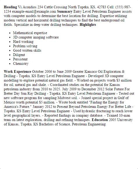 Professional Entry Level Petroleum Engineer Templates To. Best Resume Formats For Experienced. College Scholarship Resume. Example Of A Customer Service Resume. Sample Resume Skills Profile Examples. Sample Resume For Sales And Marketing. Hr Manager Resume Samples. Free Resume Templates For Word Download. A Good Cover Letter For Resume