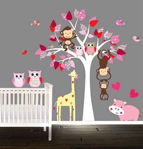 sticker arbre chambre bébé davaus stickers muraux winnie chambre bebe avec