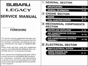 Subaru Legacy 2004 User Wiring Diagram