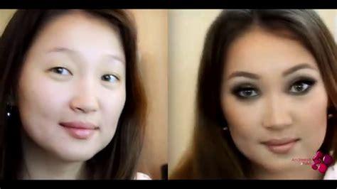 Макияж для увеличения глаз пошагово. Фото до и после. Видео