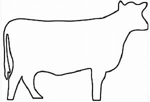 Outline Of Cow - ClipArt Best