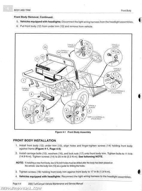 1999 Club Car Carry All 2 Plus Wiring Diagram 1994 Gas Club Car ...